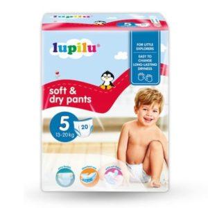 Підгузки-трусики Lupilu 5 soft & dry
