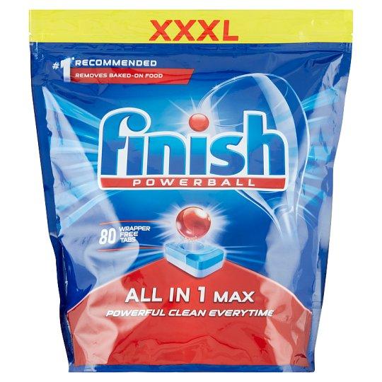 Таблетки Finish All in 1 Max для посудомийних машин 80 шт