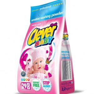 Порошок Clever Baby для прання дитячих