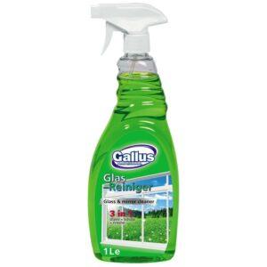 Засіб для миття вікон Gallus зелений 1 л