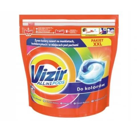Капсули Vizir Color 3 in 1 для прання 50 шт