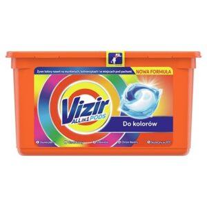 Капсули Vizir Color 3 in 1 для прання 39 шт